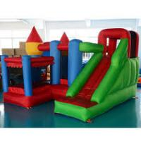 Wholesale Kids Jumping Castle Inflatable Bounce Houses With Slide / Tunnel from china suppliers