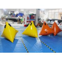 Wholesale Colorful Sea Inflatable Marker Buoy Hot Air Welded Seams Stainless Fittings from china suppliers