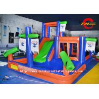 Wholesale Interesting Pirate Ship Bounce House Inflatable Slides 0.55mm PVC from china suppliers