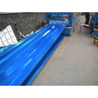 Quality Corrugated galvanized steel sheet zinc aluminum sheets , 0.3mm-6mm Thickness for sale