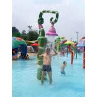 Wholesale Safe Jellyfish Cartoon Shape Water Spray Park Equipment For Kids , Easy Installation from china suppliers