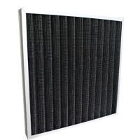 Wholesale High Efficiency Pleated Panel Air Filters / Active Carbon Air Filter For Hospital from china suppliers