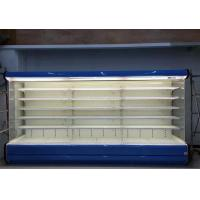 Wholesale 5 Layers Open Front Display Cooler , Supermarket Refrigeration Equipment from china suppliers