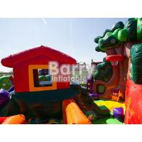 Wholesale Custom Blow Up Obstacle Course For Kid Party Time Playground Inflatable Jumping Bounce from china suppliers