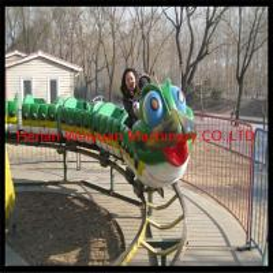 China park amusement ride Fruit Worm Roller Coaster on sale