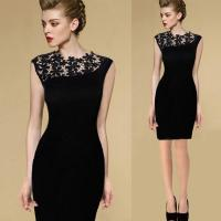 Wholesale New Sexy Casual Lace Sleeveless Party Evening Cocktail Short Fashion Women Dress from china suppliers