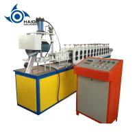 Wholesale Hight Speed Hydraulic Shutter Door Roll Forming Machine With 2.5 ton Decoiler And  PLC from china suppliers