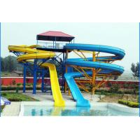 Wholesale 1m - 1.3m Spiral Fiberglass Water Slides  from china suppliers