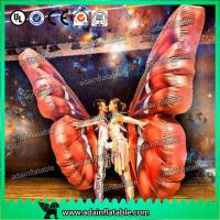 Wholesale Vivid Inflatable Cartoon Characters , Digital Printing Inflatable Butterfly Wing Model from china suppliers