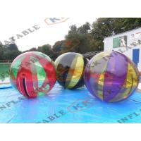 Wholesale Professional Inflatable Water Ball / Human Water Ball 0.9mm Pvc Tarpaulin from china suppliers