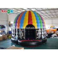 Buy cheap Inflatable Disco Dome Bouncy Jumper House with Magic Led Light for Commercial from wholesalers