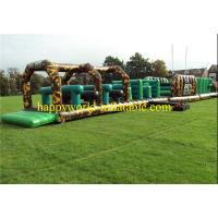 Wholesale Jungle themed inflatable obstacle course , inflatable playground balloon from china suppliers