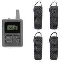 Wholesale 100 Channel E8 Ear Hanging Wireless Tour Guide System , Simultaneous Translation Equipment from china suppliers