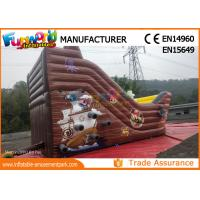 Wholesale Custom Printing Inflatable Commercial Bouncy Castles With Slide from china suppliers