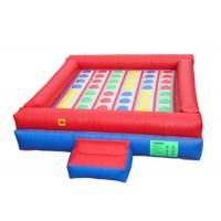 Wholesale 0.55mm PVC Inflatable Sports Arena , Giant Inflatable Games High Tensile Strength from china suppliers