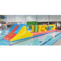 Quality Indoor Swimming Pool Games, Inflatable Obstacle Course For Sale for sale