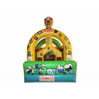 China Detachable roof material inflatable bounce house inflatable clown bounce house for children on sale