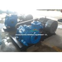 China Electric Motor Driven Slurry Pump for Heavy Duty Tailings Muds Solids for Mining Ores on sale