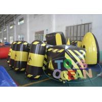 Wholesale Amazing Inflatable Paintball Airball Bunkers / Indoor Paintball Field For Adults from china suppliers