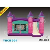 Wholesale PVC Inflatable Combo Bouncers with Slide Jumping House YHCB-001 in 6.5*4.5*4m from china suppliers