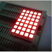 China Waterproof 5x7 Dot Matrix Led Display Square with High brightness on sale