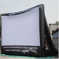 China inflatable movie screen on sale