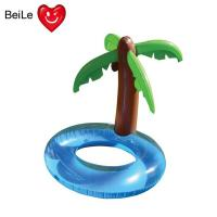 Wholesale Water pool inflatable palm tree swimming ring for summer from china suppliers