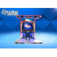 Dance Competition Arcade Video Game Machine For Double Player 400W