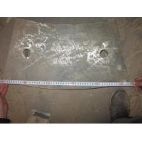 Quality Iron End SiO2 Mill Liners for sale