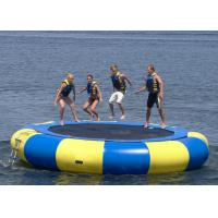 Wholesale UV Protective Floating Water Trampoline , Blow Up Trampoline Two Coated Side from china suppliers