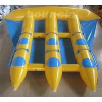 China Customized 0.9MM PVC Tarpaulin Inflatable Boat Toys Towable Flyfish For 6 Person on sale