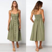 Wholesale Fashion A-Line Dresses With Spaghetti Strap from china suppliers