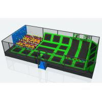 Wholesale CREEZ Popular Kids Indoor Trampoline Park Equipment With Sponge Pools from china suppliers