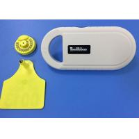 China Handheld RFID Microchip Scanner For Dogs , 134.2khz Universal Microchip Reader on sale