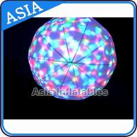 Wholesale LED Light  Helium Balloon And Blimps , Flying Advertising Colorful Inflatables from china suppliers