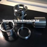 Wholesale CNC Machining Fisher Control Valve Seat Parts Inserts Silver And Grey Color from china suppliers