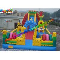 Wholesale PVC tarpaulin Inflatable Amusement Park Customized , Jumping Castles For kids from china suppliers