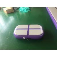 Wholesale Professional Air Jumping Track Purple Inflatable Air Board Air Block For Gymnastics from china suppliers