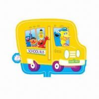 Wholesale Sesame Street Bus Balloon, Measures 46 x 58.5cm, Filled with Helium/Hydrogen and Self-sealed from china suppliers
