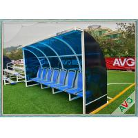 Quality Weather Resistant Soccer Field Equipment Mobility Aluminum Soccer Coach Seat for sale