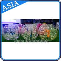 China TPU / PVC Inflatable Bubble Suit Ball , Bubble Ball Customise on sale