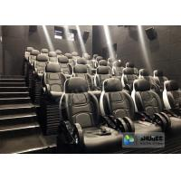 Novel Motion 5D Cinema Equipment With Luxurious Armrest Seats 2 Years Warranty