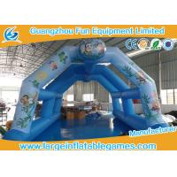 China 0.4mm PVC Inflatable Air Tent Tunnel Fire Retardant Attractive 12 Months Warranty on sale