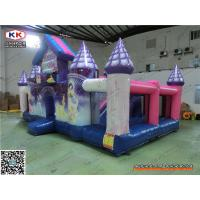 Buy cheap PVC Multifunctional Giant Inflatable Castle For Baby Jumping Pleasure Park 8 x 4 from wholesalers