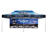Buy cheap 3X6 Portable Pop Up Canopy Tent Custom Logo With Highly Attached Velcro from wholesalers