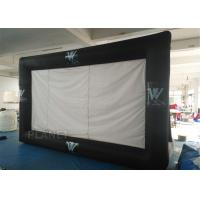Portable Inflatable Projector Movie Screen Logo Printing EN14960 Approved