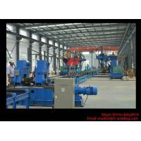 Buy cheap 20mm - 40mm Mechanical H Beam Straightening Machine for H Beam Flange Anti-heat Deformation from wholesalers