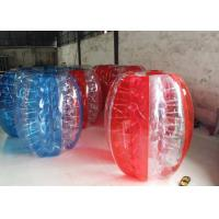 China Football Outdoor Inflatable Toys Glass Bumper Soccer Body Zorb Ball on sale