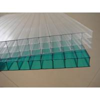 Wholesale Clear weather resistance Twin walls Polycarbonate Hollow Sheet 12 / 14 / 16 mm from china suppliers