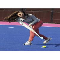 Wholesale Green / Blue / Red Hockey Artificial Turf Synthetic Grass High Elasticity from china suppliers